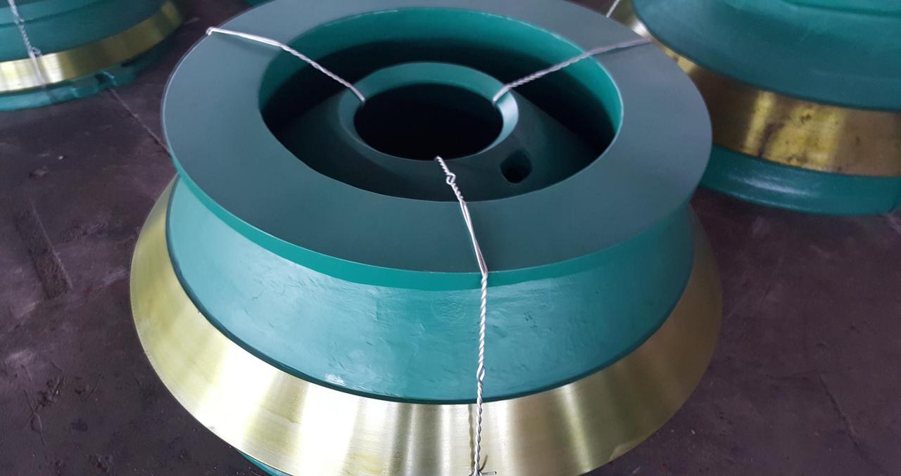 Брони конуса с металлокерамическими вставками