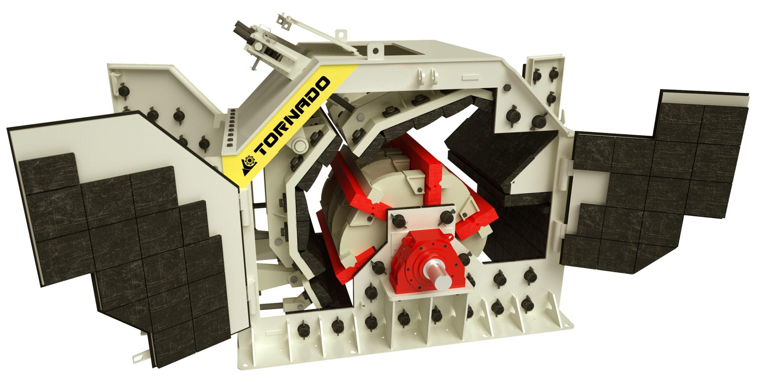 Роторная дробилка Tornado 300 от производителя (Торнадо 300, Тауро 50, Tauro 50)