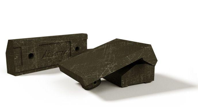 Отражательные (дробящие) плиты роторной дробилки мелкого дробления Dune